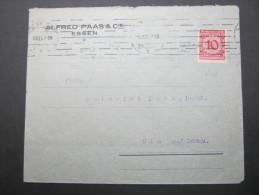 1923, Firmenbrief Aus  ESSEN - Germany
