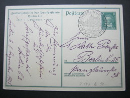1927, Bildganzsache Mit SSt. - Germany