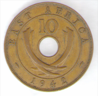 EAST AFRICA 10 CENTS 1942 - British Colony