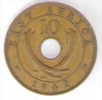 EAST AFRICA 10 CENTS 1942 - Colonia Britannica