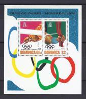 JUEGOS OLÍMPICOS - DOMINICA 1976 - Yvert #H36 - MNH ** - Verano 1976: Montréal