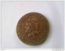 100 Francs 1976 - Polynésie Française - TTB - - French Polynesia