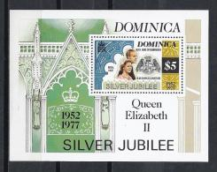 FAMILIAS REALES - DOMINICA 1977 - Yvert #H42 - MNH ** - Familias Reales