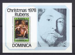 PINTURA - DOMINICA 1978 - Yvert #H50 - MNH ** - Rubens