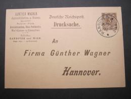 1900  Privatganzsache  Pelikan Tinte - Allemagne