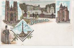 BRUXELLES ( Multivues Pionniere ) - Panoramische Zichten, Meerdere Zichten