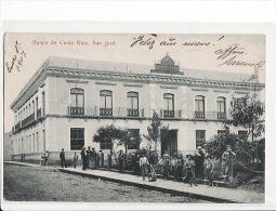 Carte 1907 BANCO DE COSTA RICA / SAN JOSE - Costa Rica