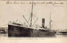 "LA PALLICE-ROCHELLE - Paquebot-Poste ""Orissa""    (60957) - La Rochelle"