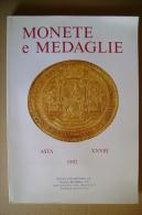 PBW/3 Catalogo Asta MONETE E MEDAGLIE 1992 Kunst Und Munzen A.G. - Libri & Software