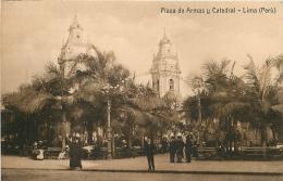 Per� P�rou Lima Plaza de Armas y catedral CPABazar path�