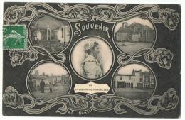St _Julien_de _Concelles   Souvenir  1908       Vf Nantes - France