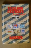 PBW/9 SASSONE 1992-93 Francobolli GRECIA-JUGOSLAVIA-TURCHIA -CIPRO TURCA-CROAZIA-SLOVENIA Cif Edizioni - Cataloghi