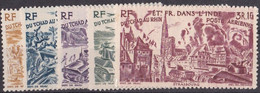 Inde N° 1 à 6** PAR AVION - India (1892-1954)