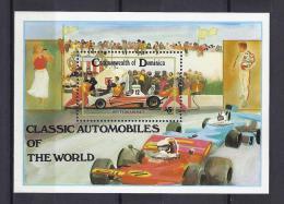 AUTOMOVILISMO - DOMINICA 1983 - Yvert #H84 - MNH ** - Automovilismo