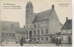 D17 1 - BELGIQUE - LOOS - (tacots, Animé) L´hôtel De Ville Datant De 1640 - Nr 187 L.C.H. à Paris - Lo-Reninge
