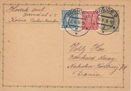 CSR; Postal Card CDV49 To Denmark - Cartes Postales
