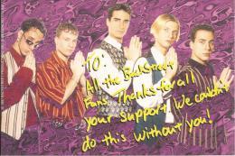 BACKSTREET BOYS - FOTO 10X15 CM. - 1997 BACKSTREET PRODUCTIONS 7 I.A.M. CORP. - Foto
