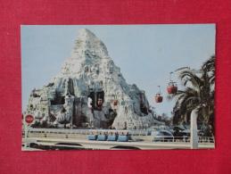 Disney > Disneyland  Matterhorn Mountain Not Mailed  Ref-1073 - Disneyland