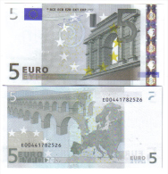 5 € SLOVACCHIA E010C5 JEAN-CLAUDE TRICHET FDS Cod.€.025 - EURO