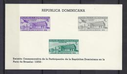 BRUSELAS'58 - REPUBLICA DOMINICANA 1958 - Yvert #H18 - MNH ** - 1958 – Brussels (Belgium)