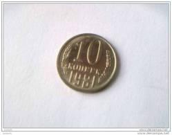 10 Kopeks 1981 - RUSSIE - Superbe - - Rusia