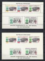 REFUGIADOS - REPUBLICA DOMINICANA 1960 - Yvert #H22 (Dentado Y Sin Dentar) - MNH ** - Refugiados