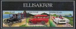 E0136 FAROE ISLANDS 2011, Sc 569a Vintage Cars,  MNH - Isole Faroer