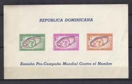 ORGANIZACIONES - REPUBLICA DOMINICANA 1963 - Yvert #H28 - MNH ** - Tegen De Honger