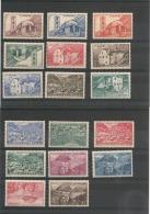 ANDORRE  Années 1944/46 N° Y/T  -100/118*/** Côte : 17,00 € - Neufs