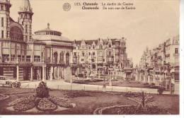 D10 B19 - BELGIQUE - OSTENDE - Le Jardin Du Casino - Nr 103 Albert - Oostende