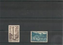 ANDORRE  Années 1955/58 N° Y/T  -149-150A Oblitérés