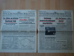 Völkischer Beobachter: Verschiedene Ausgaben Oktober 1938 ! - Zeitungen & Zeitschriften