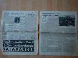 Völkischer Beobachter: Verschiedene Ausgaben Dezember 1938 ! - Zeitungen & Zeitschriften