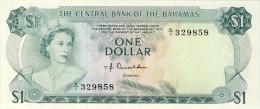 BILLET # BAHAMAS # 1 DOLLAR  #  1974  # PICK  35  # QUEEN ELISABETH II # - Bahamas