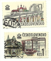 1978 - Cecoslovacchia 2289/90 Ponti C2626, - Ponti