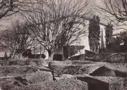 Cp , 06 ,GOURDON , Le Château De Gourdon Vu De La Terrasse - Frankrijk