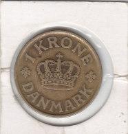1 KRONE Alu-bronze 1925 HCN-GJ - Denmark
