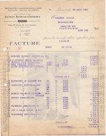 75 PARIS FACTURE 1925 Spécialités Eee QUINCAILLERIE En Gros DUTRUT BERNIER & DESRUES * K14 - 1900 – 1949