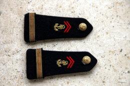 2 épaulettes ADJ Chef RPIMa - Uniformes