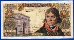 100 NF BONAPARTE TYPE 1959 BILLET DE LA BANQUE DE FRANCE ANNEE 5-4-1962 ALPHABET U.171 N° 19119 - NOTRE SITE Serbon63 - 100 NF 1959-1964 ''Bonaparte''
