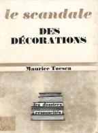 SCANDALE DES DECORATIONS LEGION HONNEUR JULES GREVY REPUBLIQUE  POLITIQUE ORDRE MEDAILLE DECORATION