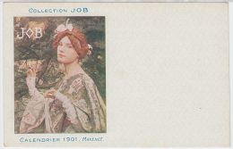 19080g MAXENCE - Collection JOB  - Calendrier 1901 - Illustrateurs & Photographes