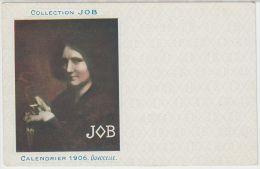 19086g DUVOCELLE - Collection JOB  - Calendrier 1906 - Illustrateurs & Photographes