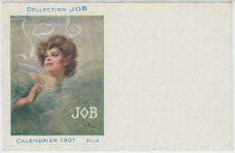 19085g VILLA - Collection JOB  - Calendrier 1907 - Illustrateurs & Photographes