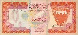 BILLET # BAHRAIN # 1 DINAR  # 1973  # PICK 8  # - Bahreïn