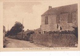 ¤¤  210 -   LA PLAINE-sur-Mer  -  L'Ecole -  Route De Sainte-Marie   ¤¤ - La-Plaine-sur-Mer