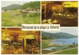 LA SALVETAT Bar Restaurant De La Plage Multivues (Larcan) Hérault (34) - La Salvetat