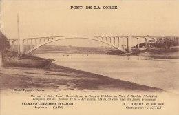 PONT De La CORDE - Pont Construit Sur La Penzé Près De Morlaix - Ducos & Fils Construct Nantes - Pelnard Ingénieur P - Non Classés
