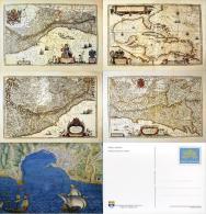 VATICANO EXPO FILATELIA GENOVA '92 4 INTERI 700 L 1992 + CUSTODIA - Interi Postali