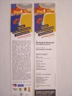 Flyer - Marque Page - Festival Avignon - - Autres Collections